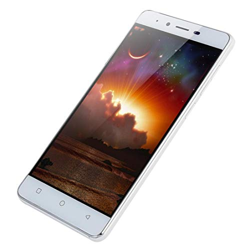SO-buts Android MATE9 Quad-Core-Smartphone, 5.1-Zoll-Ultra-TN-Bildschirm, Dual-Karte Dual-Standby-Handy, maximale Speicherkapazität 32G, Dual-Kamera WiFi Bluetooth, (Weiß)