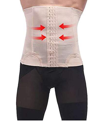 Männer dünner justierbarer Abnehmenband-Korsett-Körper-Unterleibs-Kontrolltaillen-Trainer Gürtel Nackt XL