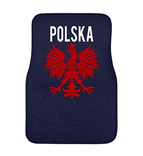 Polska Poland Polen Wappen Flagge Fahne National Motiv - Schlichtes Und Witziges Design - Automatte