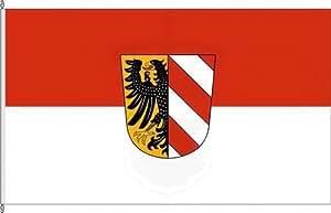 Königsbanner Hissflagge Nürnberg - 60 x 90cm - Flagge und Fahne