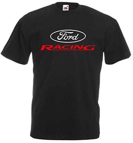 Ford Racing T-Shirt, Cotton,100% Cotton, Men's, Women