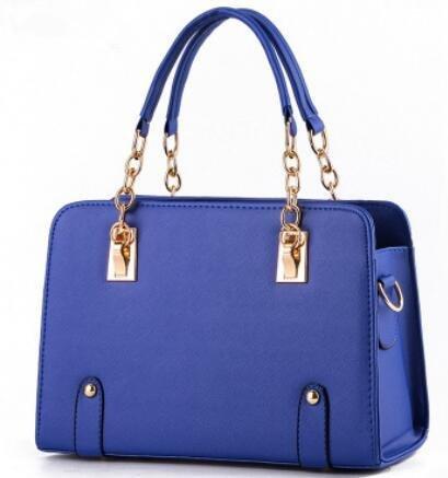 HQYSS Borse donna Estate alla moda modelli Lady catena tracolla Messenger Handbag , pink deep blue