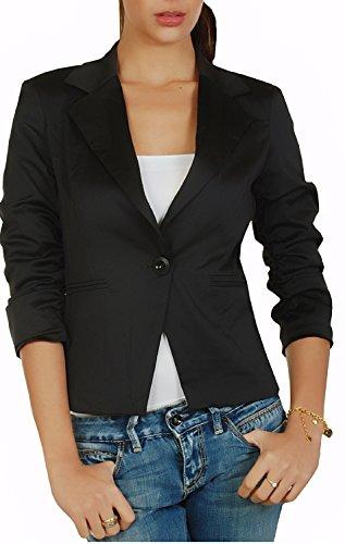 4tuality Damenblazer Tailliert mit 3/4 Arm Gr. S - XXL