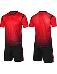 6eb87ce09e725 LQZQSP Camisetas De Fútbol Uniformes Juvenil Maillot De Foot Survetement  Fútbol Entrenamiento Voetbal Tenue Men Voetbalshirts