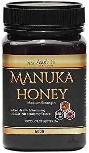 AusVita Certified MGO Highest quality Manuka Honey (MGO 120+) 500g