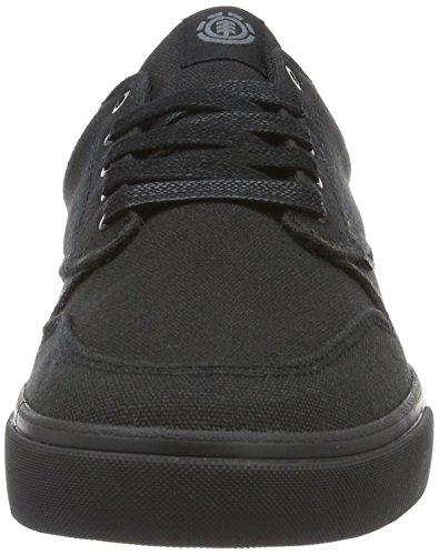 Element Herren Topaz C3 Sneaker Schwarz (Black black)