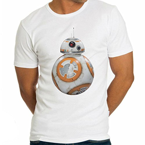 BB8 Robot Star Wars Herren T-Shirt Weiß
