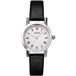 Student recreation retro watch/ fashion strap watch/Simple quartz watch-D