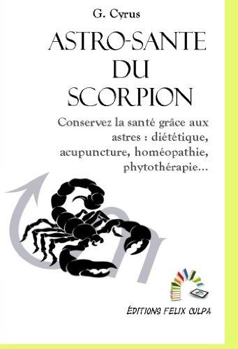 Astro-santé Scorpion