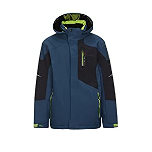 Killtec  Jungen Zado Jr Skijacke / Funktionsjacke mit Kapuze und Schneefang,dunkelblau,176