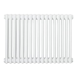 ACOVA 3-COLUMN HORIZONTAL RADIATOR 500 X 1042MM WHITE. Suitable for Central Heating