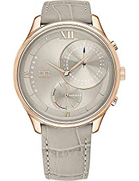Tommy Hilfiger Women's Analogue Quartz Watch with Leather Strap 1782131