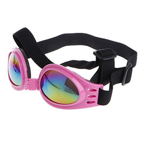 qingqingR Mode pet Faltbare schutzbrille uv-Schutz Sonnenbrille Sonnencreme Brille rosa 1 stück