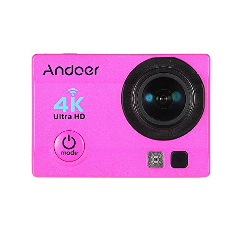 Andoer 16MP Action Camera Ultra-HD LCD 4K 25FPS 1080P 60FPS