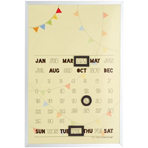 Sugarbooger Living merci magnetica cancellabile a secco, Fantastico calendario Banners - Dry Erase Calendario