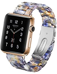 Autulet Compatible para Apple Watch Band 42mm Mujer 42 Iwatch Band para Apple Pulseras 42mm Pulsera