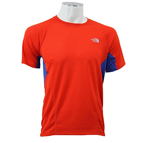 the-north-face-m-gtd-s-s-fry-t-shirt-homme-rouge