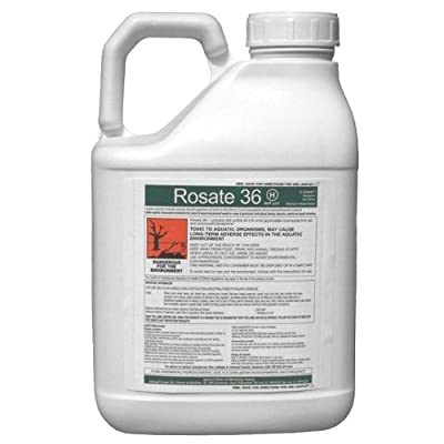 Rosate 36 Very Strong Glyphosate Weedkiller - Kills The Weeds & The Roots!