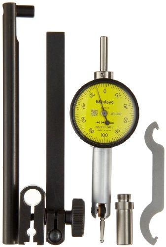 Mitutoyo 513-503T Klein-Fühlhebelmessgerät mit Umschalthebel (Dial Indicator Gauge)