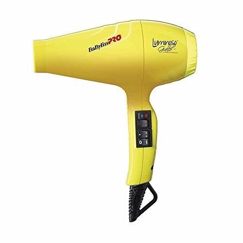 BaBylissPRO 3030050134407 Haartrockner Luminoso Giallo, gelb