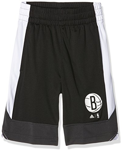 ooklyn Nets Winter Hoops Shorts, Black, 128 ()