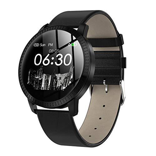 Mode Fitness Tracker BZLine Fitness Armband Uhr Herz Rate Blutdruck Monitor Musiksteuerung Smart Band IP67 Wasserdichte Smart Armband für IOS Android Telefon für Kinder, Frauen, Männer (Uhr Herzen)