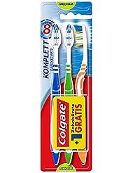 Colgate Komplett Kariesschutz Zahnbürste medium, 3 Stück