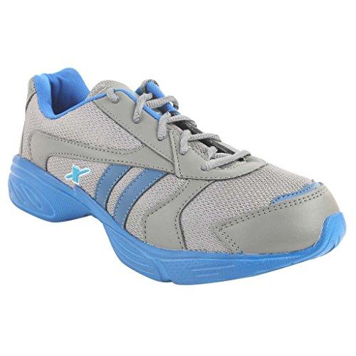 Sparx Grey-blue Sports Shoe Size- 6x10 (sm-203)