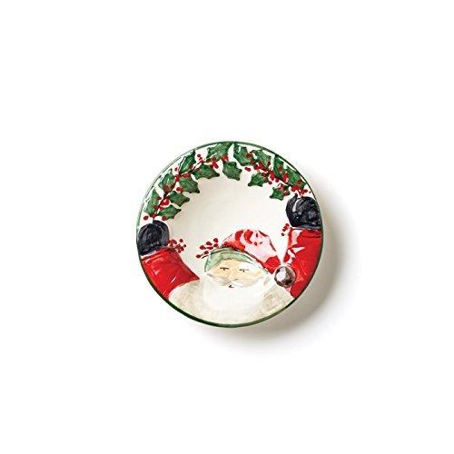 Vietri Santa (Vietri Old St. Nick Santa Candy Dish by VIETRI)