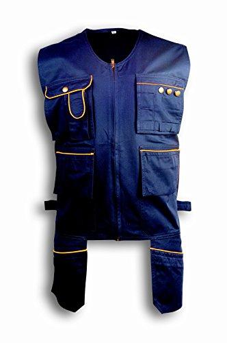 Preisvergleich Produktbild Seba 957bc Weste Multipocket Cot / Pol blau,  blau,  957BC