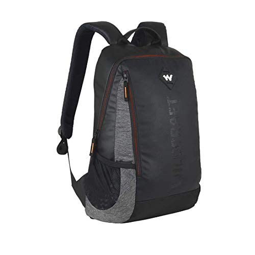 Wildcraft Work Packs'18 21 Ltrs Black Laptop Backpack (Streak Plus) Image 3