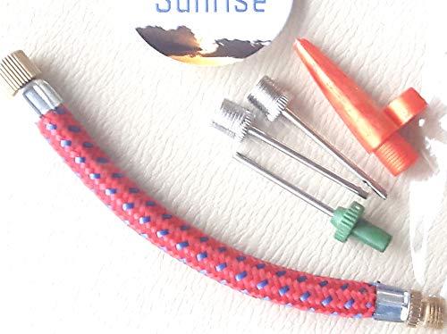Ideal Nadel-ventil (cybersunrise Pumpe Adapter Kit-Set von 5Nadel Ventil-Stecker und flexibler Schlauch)