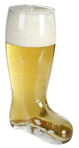 Vaso de cerveza diseño bota (tamaño XL)