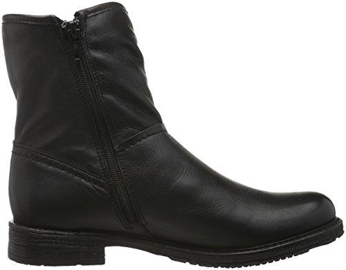 Buffalo Es 30869 Garda, Bottes mi-hauteur avec doublure chaude femme Noir - Schwarz (PRETO 01)