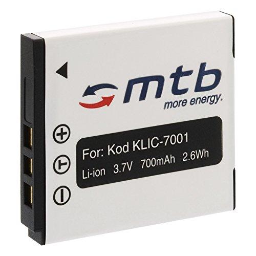 Ersatz-Akku Klic-7001 für Kodak Easyshare M853, M893 IS, M1063, M1073 IS... (siehe Liste)
