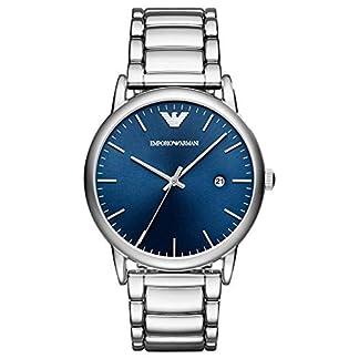 Emporio Armani Reloj Analógico para Hombre de Cuarzo con Correa en Acero Inoxidable AR11089