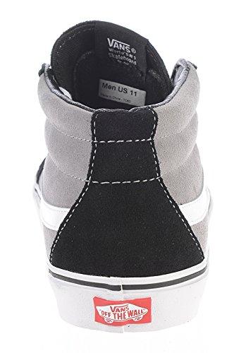 VANS - SK8-HI MID REISSUE - Suede black frost grey Noir
