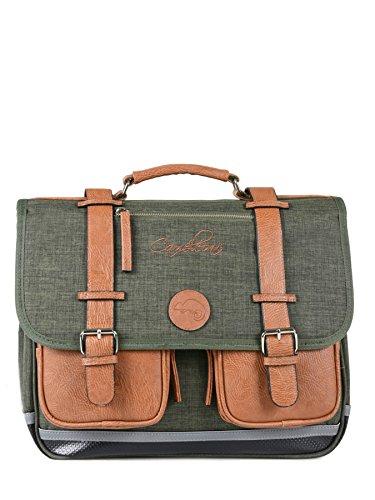 Cartable 38cm Caméléon Vintage avec 2 compartiments -...