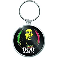 Bob Marley - Logo Face Keychain - Schlüsselanhänger