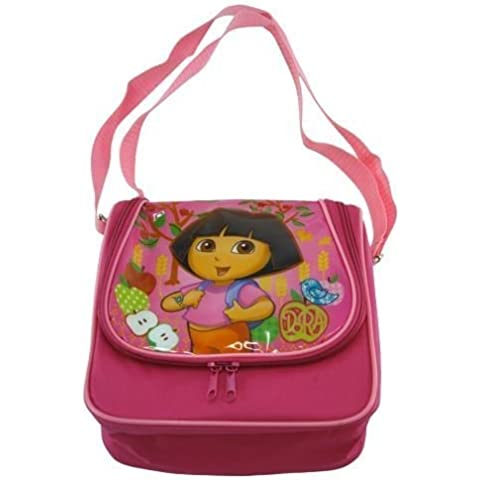 UPD Dome Lunch Bag with Adjustable Strap, Dora (Discontinued by Manufacturer) by UPD - Dora Lunch Bag