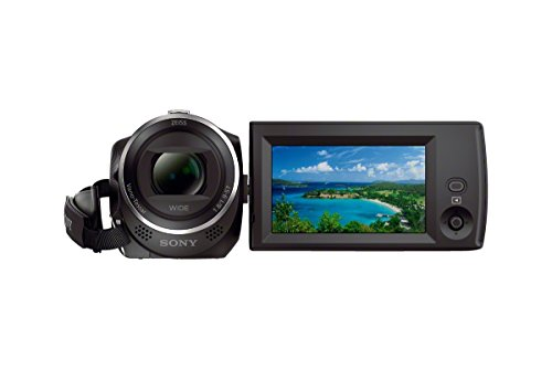 Sony HDRCX405 9.2MP HD Video Recording Handycam Camcorder (Black) with Free Carrying Case
