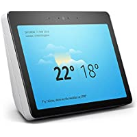 "All-New Echo Show (2nd Gen) – Premium Sound and a Vibrant 10"" HD Screen – White"