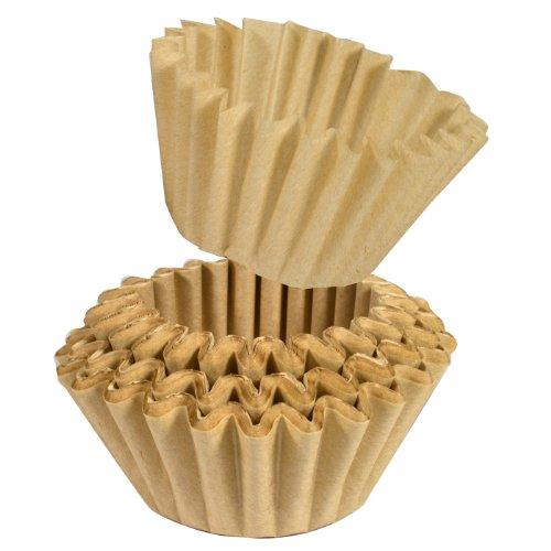 BEEM Germany 100 Universal Papier-Korbfiltertüten für Fresh-Aroma-Perfect Deluxe und Freh-Aroma-Perfect DUO Kaffeemaschine mit Mahlwerk