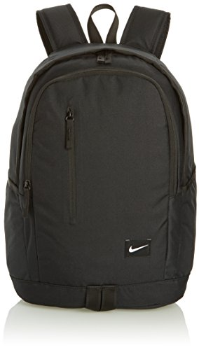 Nike All Access Soleday Mochila, Hombre, Negro / Blanco (Black / Black / White), Talla Única