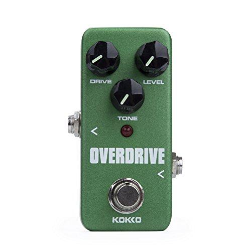 Preisvergleich Produktbild CamGO KOKKO FOD3 Mini Overdrive Effektpedal Tragbare Gitarre Effektpedal Grün