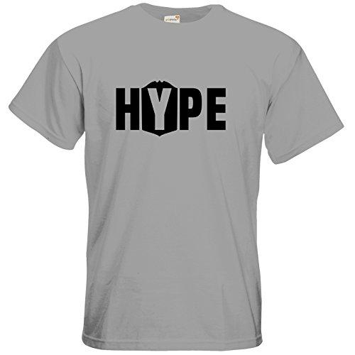 getshirts - Badeschlappen Shop - T-Shirt - Hype pacific grey