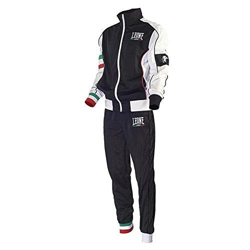 Tuta Completa (Giacca e Pantaloni) Leone AB796 (Nero, M)