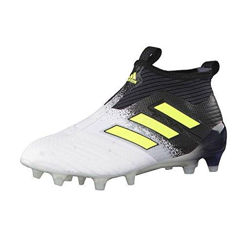 adidas Unisex-Kinder Ace 17+ Purecontrol Fg J Fitnessschuhe Weiß (Ftwbla/Amasol/Negbas) 38 EU