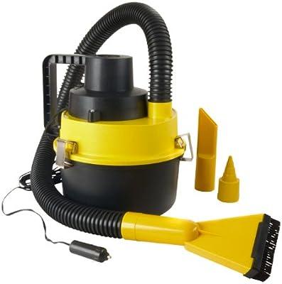 WAGAN 750 - Aspiradora (Seca y húmeda, Sin bolsa, Negro, Amarillo)