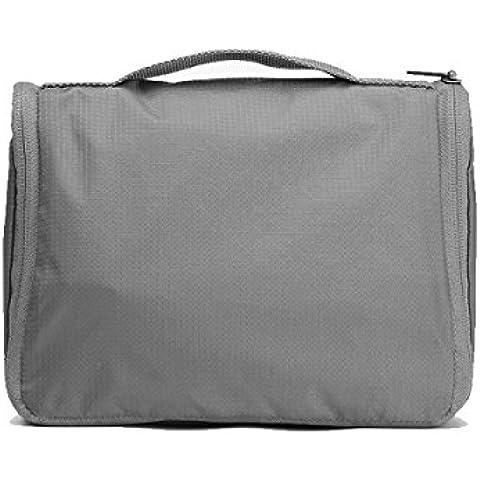 MaMaison007 Bolsa de Xiaomi viaje neceser bolso portatil multifuncion de viaje senderismo colgante lavado - gris